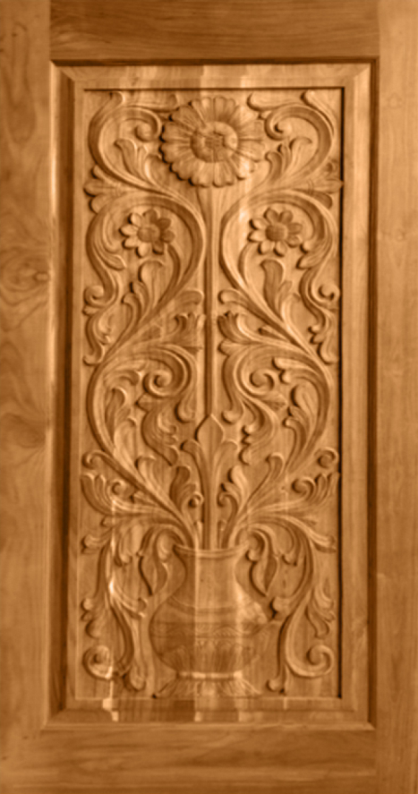 JJ-144 & Teak Wood Carving Design \u2013 JJ Doors