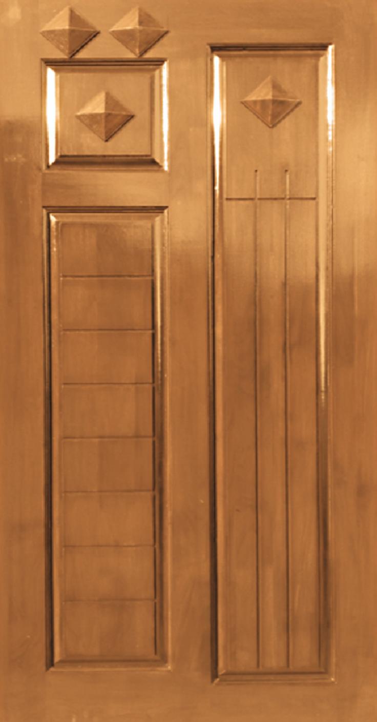 JJ-150 & Teak Wood Pyramid Design \u2013 JJ Doors