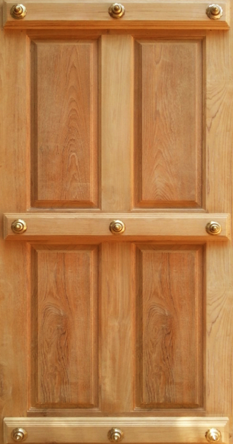 Teak main traditional design jj doors for Traditional main door design