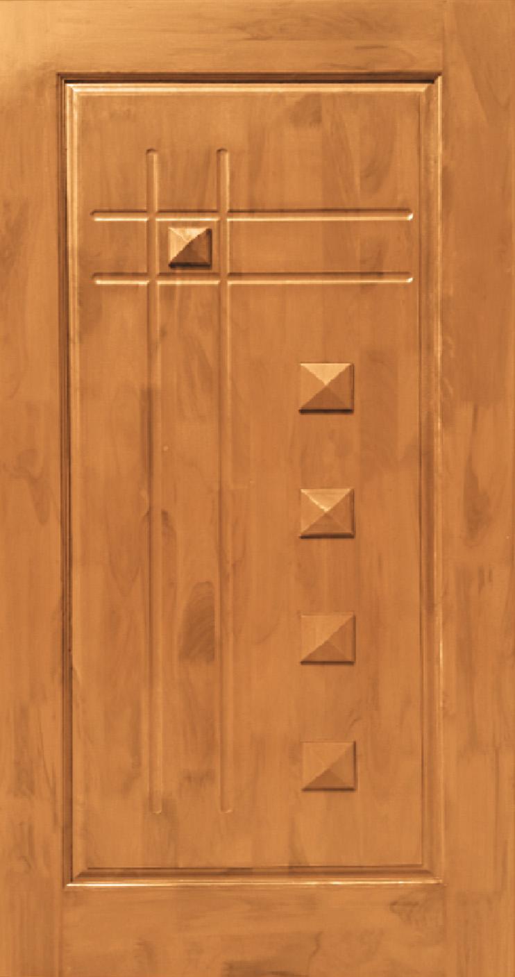 Teak Wood Pyramid Design Jj Doors