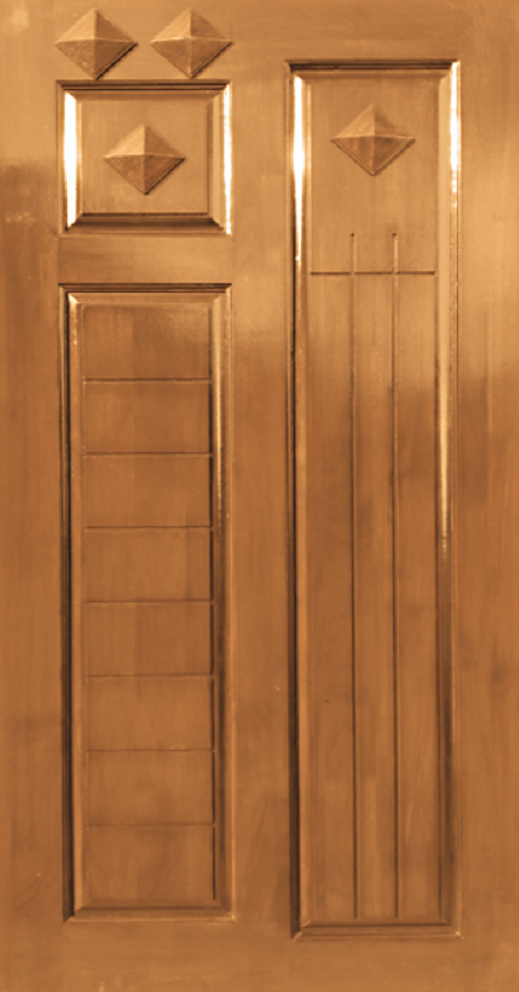 Teak wood pyramid design jj doors for Teak wood doors in bangalore