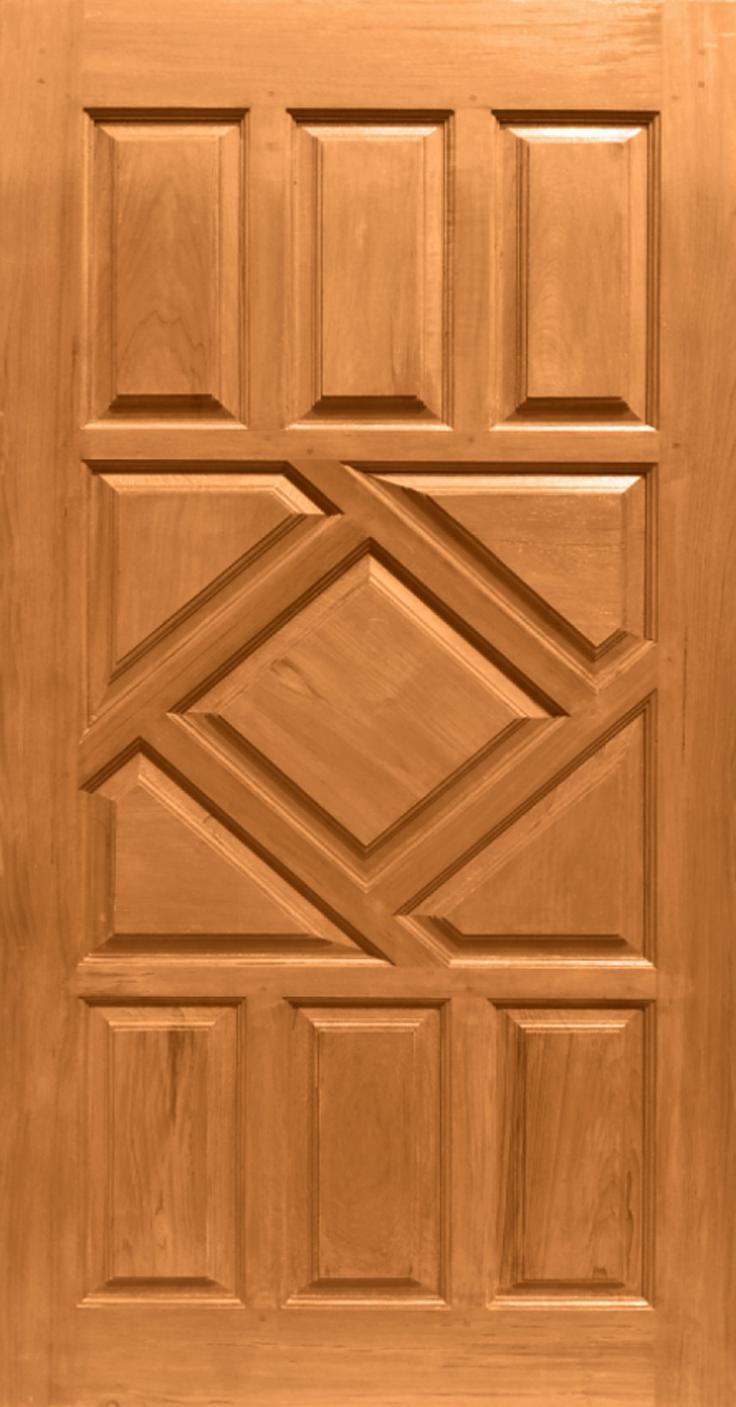 Blog Teak Wood Main Door Design In India: B/B Finger Jointed Wooden
